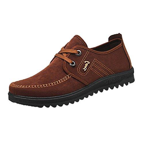 GongzhuMM Homme Chaussures de Ville à Lacets Sneakers Basse Chaussures de Sport Chaussures Décontractées Chaussures de Marche 39-42.5 EU