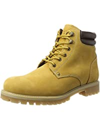 JACK & JONES Herren Jfwstoke Nubuck Boot Honey Klassische Stiefel