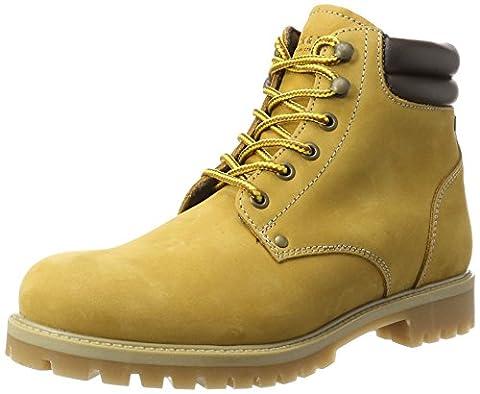 JACK & JONES Herren Jfwstoke Nubuck Boot Honey Klassische Stiefel, Gelb (Honey), 44 EU