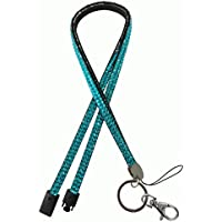 Bling Diamante Rhinestone (Breakaway) Lanyards, Choose From 8 Colours for ID Card & Key Badge Holder, USB Holder, Memory Stick Holder