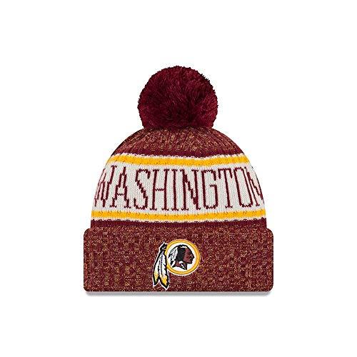 77f5386fe7d A NEW ERA Era Washington Redskins NFL On Field 18 Sport Knit Beanie Beany  Mütze