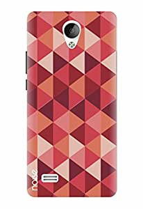 Noise Designer Printed Case / Cover for Vivo Y21 / Patterns & Ethnic / Diamond Red Design