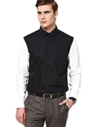Shirt Rajvila Solid Color Designer Mens Shirt