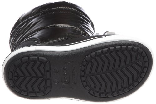 Crocs Crocbandtm Iridescent Gust Boot Kids - Stivali Uomo, , taglia Nero (Black/White)