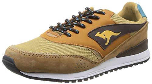 Kangaroos  Frenzy Roos 002 B,  Sneaker uomo Beige Beige (Dk Wheat/Dk Smaragd 148) 45
