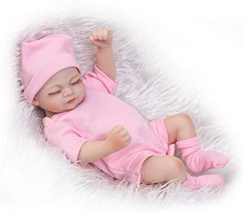 Lorenlli 26 CM Mignon Conception Conception Conception  s Reborn Bébé Poupée Doux Vinyle Réaliste Nouveau-Né Poupée Fille Cadeau d'anniversaire pour  s Filles B07MGMFSQM 04ec5e