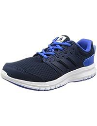 Adidas Galaxy 3 K, Zapatillas Unisex Niños, Marrón (Maruni/Maruni/Azul), 36 EU