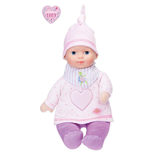 Schildkröt 601350004 - Baby Girl mit Musik und Licht, 35 cm - Puppen Mit Herz
