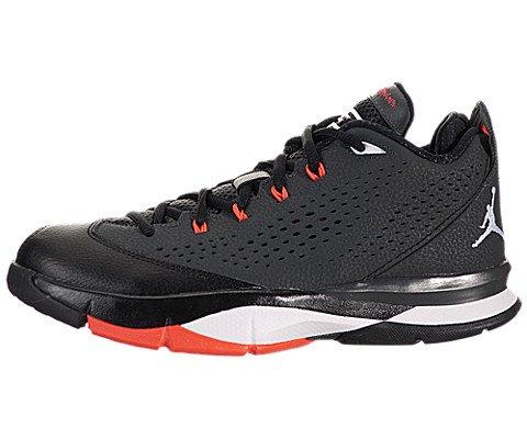 Jordan Nike Bambini CP3.VII BG Basket Scarpe, Nero (Anthracite/White/Blck/Infrrd), 38 EU M Bambino Grande