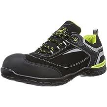 Gevavi GS37 HAWK WRKS S1P LG - Zapatos De Seguridad de piel Unisex adulto