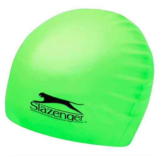 Slazenger Badekappe grün / Erwachsene