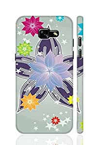 AMAN Flower Star 3D Back Cover for Samsung Galaxy A5 2017