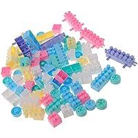 56bb7976821 Homyl Impilabile Giocattolo di Mattoni Gioco Immaginativo Creativo  Multicolore di Plastica del Blocchetto di Costruzione per