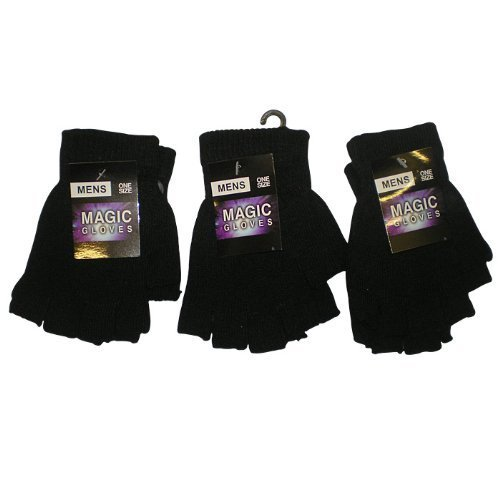 Magic Gloves - 3 Pares de Guantes Sin Dedos