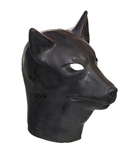 aske Fetisch Hunde Wolf Kordel Kostüm 'The Rubber Plantation tm' (Hund Kostüm Wolf)