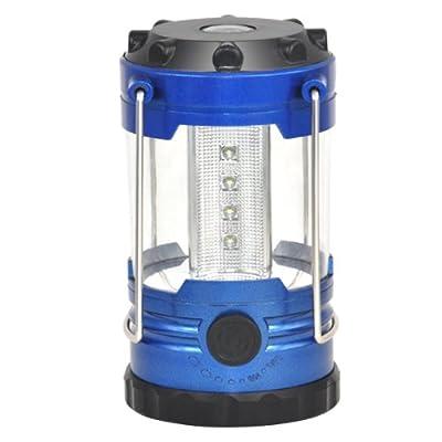 TOOGOO (R) Blau 12 LED Mini Haengeleuchten Lagerlicht Zelten Lampe tragbares Notlicht Bergaussenleuchten von TOOGOO(R) bei Outdoor Shop
