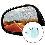 #10: Goln Oval Car Rearview Mirror Waterproof Membrane Clear Anti-Glare Anti-Fog Film New