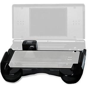 Speedlink Energy Grip Zusatzakku für den Nintendo DS Lite (bis zu 8 Stunden Spielzeit, aufladbar während des Spielens, inklusive Netzteil) schwarz