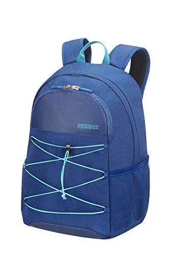 American Tourister Road Quest Medium for 15.6 Zoll Laptop Rucksack, 28 Liter, Deep Water Blue