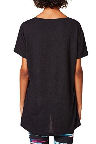 ESPRIT Sports Damen T-Shirt Schwarz (Black 001)
