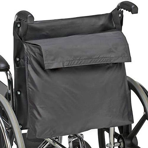Duro-Med Wheel Chair Back Pack, Black