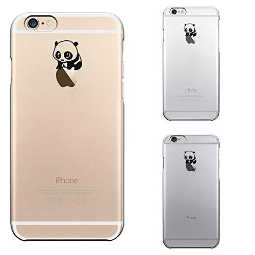 """licaso® Hülle für iPhone 6 6S 4,7"""" TPU Love Life iPhone 6 Case transparent Sketch klare Schutzhülle iphone6 Tasche Liebe für immer Unendlichkeit Infinity iPhone 6 Hülle Comic Hülle Cases (Love Life) Panda auf Apfel"""