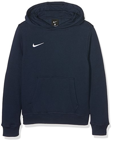 Nike Jungen Unisex Kapuzenpullover Team Club, Blau (Obsidian/football White), XL