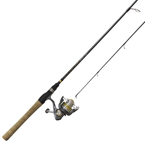 Zebco/Quantum sr05502ul. NS4 Quantum, Strategie Spinning Combo, 5.2: 1 Übersetzung, 5 'Länge 2pc, 2-6 lb Line Rating -