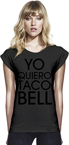 yo-quiero-taco-bell-funny-slogan-womens-continental-rolled-sleeve-t-shirt-large