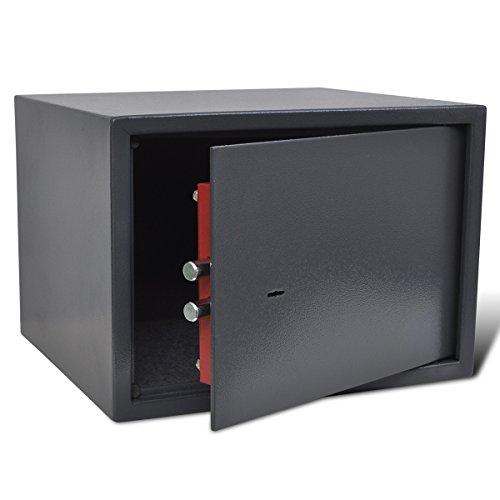 vidaXL Cassaforte Digitale Elettronica Mobile Casa Albergo Blindata per Armi Corte