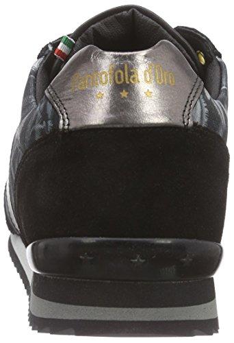 Pantofola d'Oro Teramo Print Herren LowTop Grau Dark Shadow