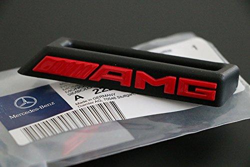 texto-escudo-logo-soporte-mercedes-benz-amg-efecto-metal-rojo