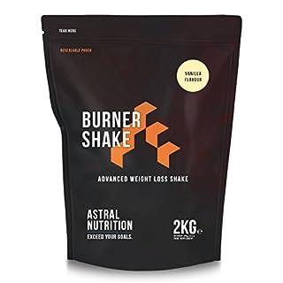Burner Shake - Fat Burning Weight Loss Shake | Contributes to Metabolism | Suppresses Appetite | UK Manufactured | Money-Back Guarantee | (Vanilla, 2kg)