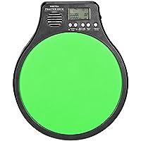 Neewer 3-in-1 Digitales LCD-Display Tragbares Trommel-Übungspad Metronom-Schlagzeuger-Trainingspad mit einstellbarem Rhythmus-Schlagtempo (grün)