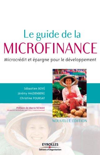 Le guide de la microfinance par Sébastien Boyé