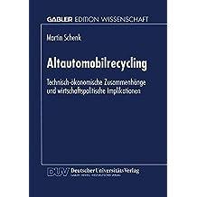 Altautomobilrecycling