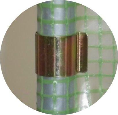 20 mm Gewächshaus – Klammern Gewächshausklammern Gewächshausclip