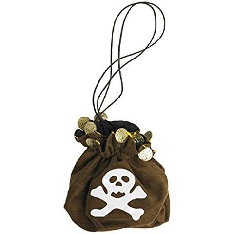 Saco de pirata para depositar oro bolsa monedas