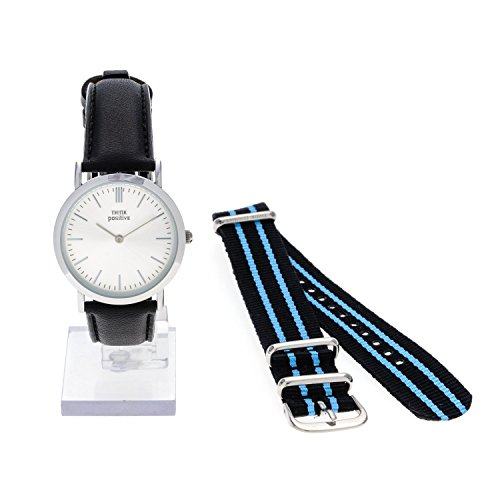 ladies-think-positiver-model-se-w95-flat-medium-steel-watch-strap-in-black-leather-made-in-italy-and