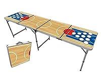 A tous les fans de beer pong, cette table est faîte pour vous !    La table de beer pong d'Original Cup est LA table qu'il te faut si tu organises une soirée ou une partie de beer pong entre amis. Originale et résistante, opte pour une qualité de t...