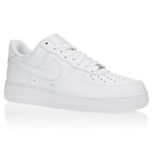 NIKE Baskets Air Force 1 07 Chaussures Homme Blanc Homme 42) Blanc