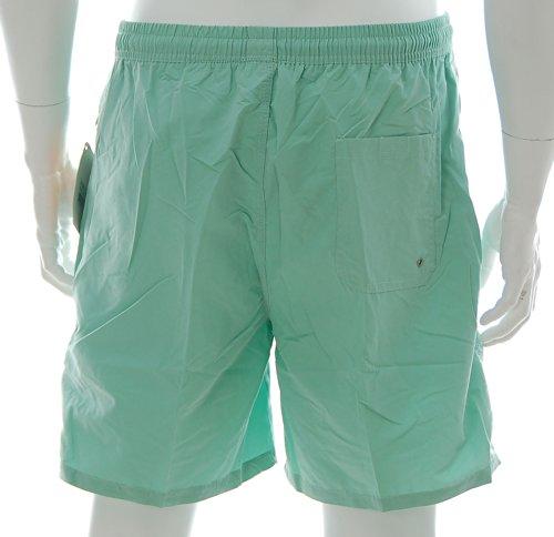 Shiwi Herren Badeshorts Boardshorts Badehose Swimshorts Shorts Reißverschluss Grün