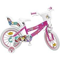 """Toimsa 645 - Bicicletta per Bambine Principesse 16"""", 5-8 Anni"""