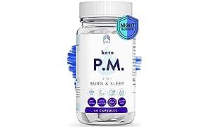 Keto Plus Adelgazar PM (60 DIAS), Quemagrasas potente para adelgazar sin ejercicio mientras duermes, Pastillas para adelgazar muy rápido mientras duermes, Fat Burner Pro +MEDICOS