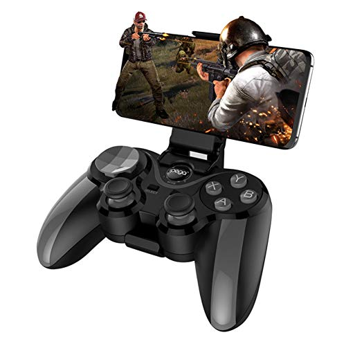 SJZX Gamecontroller Kabellos Joystick Vibration Feedback Bluetooth Gamepad - Doppel-wippe-sitz