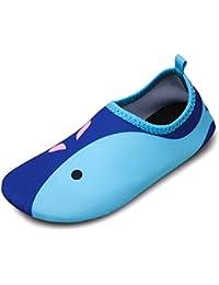 Msjenny Niños Zapatos de Agua Descalzo natación Niños Zapatos Calcetines  Piscina para Piscina de Playa Surf 4fd46e09afe