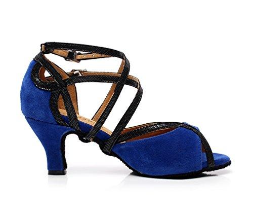 Minitoo, Scarpe da ballo donna Blu (blu)