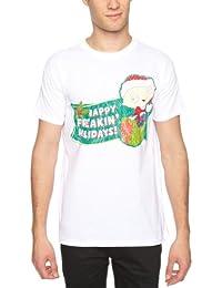 Family Guy Men's Freakin Holidays Short Sleeve T-Shirt