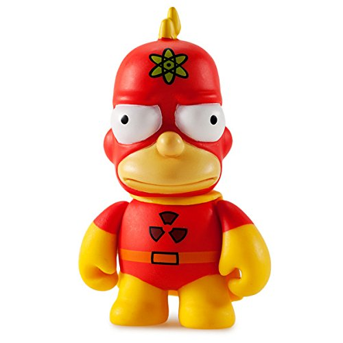 (Kidrobot The Simpsons 25th Anniversary Mini Series 3-inch Figure - Radioactive Man by Kidrobot)