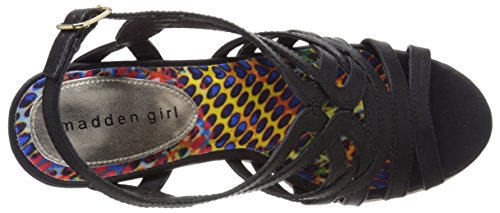 Madden Girl, Sandali donna Black Paris